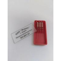 Каналонаполнитель машинный (красный) - №1, длина 25 мм, 4 штуки