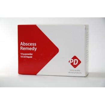 Абсцесс Ремеди (Abscesse Remedy) – паста для временного пломбирования инфицированных корневых каналов (Пор. 15 гр. + Жид. 15 гр.)