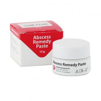 Абсцесс Ремеди (Abscesse Remedy) paste – паста для временного пломбирования инфицированных Корневых каналов - 12 гр.