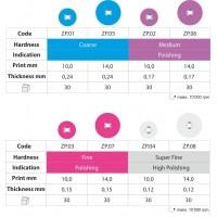 Диски Zenit Flex POP ON - супер мягкие, D14мм белые (50шт/1 дискодер)