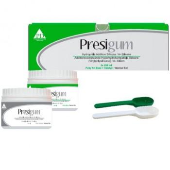 Presigum Putty Normal - Пресигум Патти Нормал - SET KIT (base 250мл+catalyst 250мл), PRESIDENT DENTAL